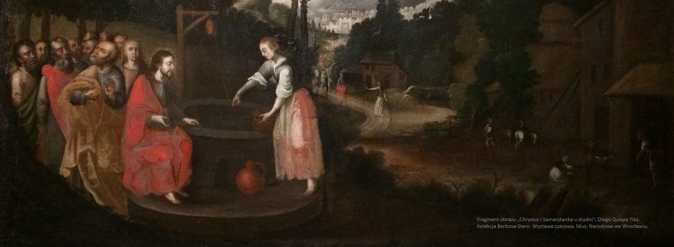 Peru Chrystus i Samarytanka u studni