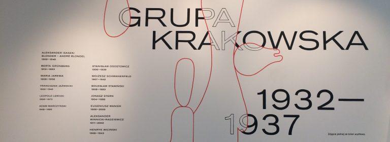 Grupa Krakowska 1932-1937 w Muzeum Narodowym