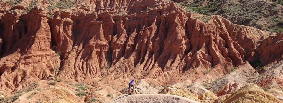 Kirgistan Kanion Bajka