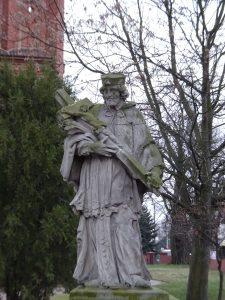 Jan Nepomucen, kościół pw. Wniebowstąpienia NMP